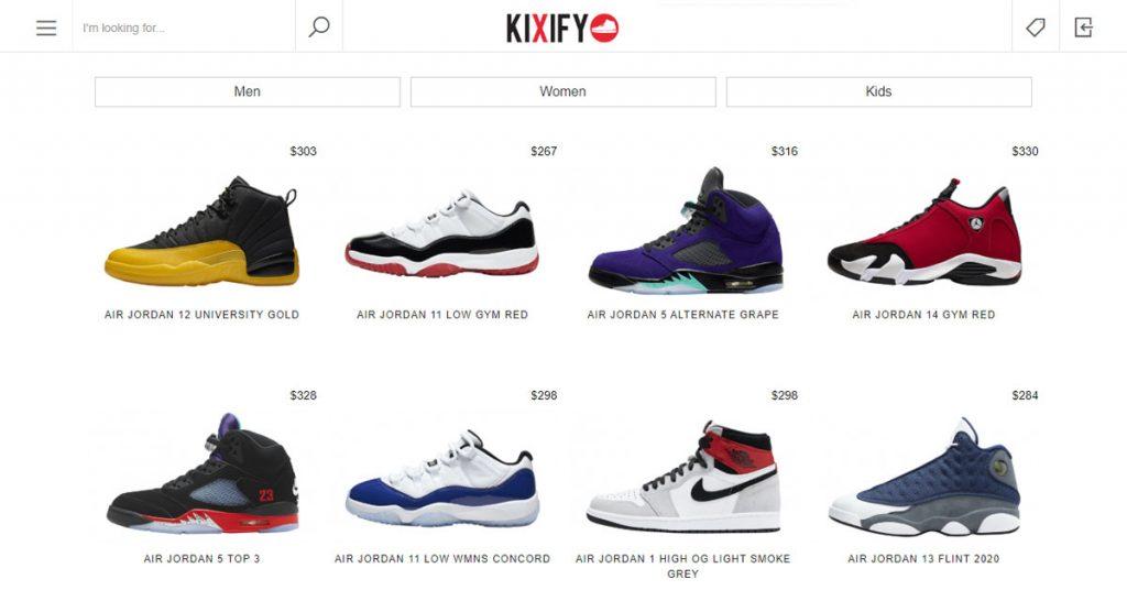 kixify site like mercari